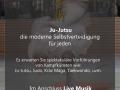 Flyer Budo Gala 20 Jahre Ju-Jutsu Übersee